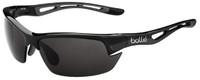 Bollé Polarized Sunglasses: Bolt in Shiny Black with Grey Lens