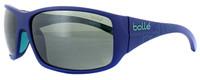 Bollé Marine Sunglasses: Kingsnake in Matte-Black with Polarized Offshore Grey