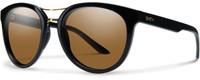 Smith Optics Bridgetown in Matte Black with Polarized Brown Gradient Lens