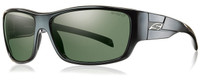 Smith Optics Frontman Sunglasses in Black with Polarized Grey Green Lens