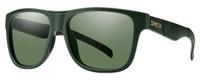 Smith Optics Lowdown XL Sunglasses in Matte Olive Camo with Polarized Grey Green