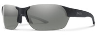 Smith Optics Envoy Sunglasses in Matte Black with ChromaPop Polarized Platinum Lens