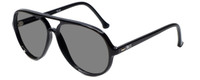 Ion SC20 Aviator Sunglasses in Black with Polarized Grey Lens