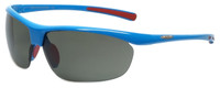 Suncloud™ Zephyr Polarized Sunglasses in Blue with Grey Lenses