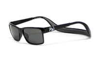 Hoven Eyewear MONIX in Black Gloss with Dark Grey