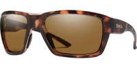 Smith Optic High-Water Matte Tortoise Amber Brown ChromaPop Polarized Sunglasses