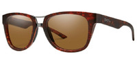 Smith Landmark ChromaPop Polarized Sunglasses Matte Tortoise Havana Brown 53 mm