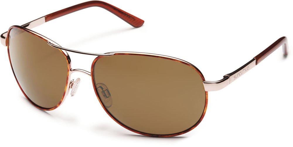 369a395607 Suncloud Aviator Polarized Metal Sunglasses - Polarized World