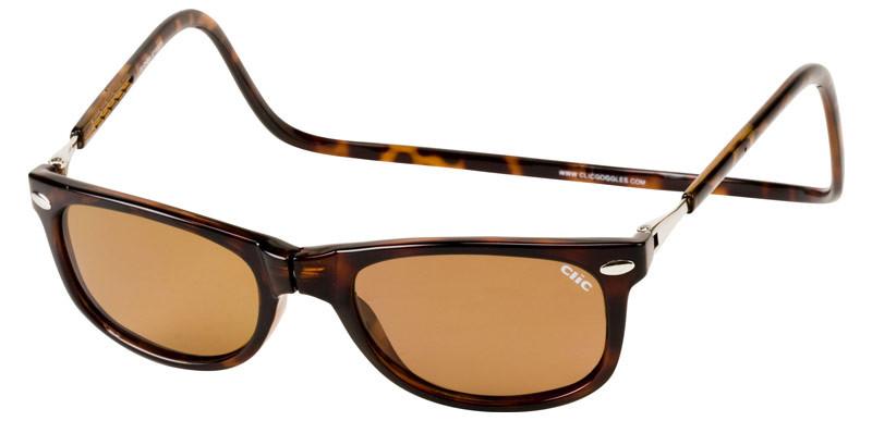 55bd2d5fb6 Clic Magnetic Sunglasses Ashbury in Tortoise w  Amber Lens ...