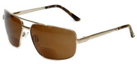 Grand Banks™ Polarized Bi-Focal Readers: 476BF in Gold & Amber