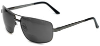 Grand Banks™ Polarized Bi-Focal Readers: 476BF in Gun-Metal & Grey