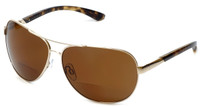 Grand Banks™ Polarized Bi-Focal Readers: 477BF in Gold & Amber