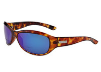 Ono's™ Polarized Bi-Focal Readers: Harbor Docks in Tortoise & Blue Mirror