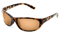 Ono's™ Polarized Bi-Focal Readers: Oak Harbor in Tortoise & Amber