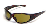 Grand Banks™ Polarized Bi-Focal Readers: 473BF in Matte-Tortoise & Amber