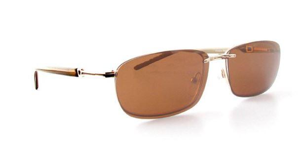 ac2d69f2ca2 Magnetic Clip-On 882 Gold Polarized Reading Sunglasses - Polarized World