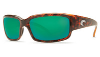 Costa Del Mar™ Polarized 580G Sunglasses: Caballito in Tortoise & Green Mirror Lens