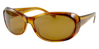 Reptile Polarized Sunglasses: Medusa in Blonde & Amber