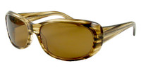 Reptile Polarized Sunglasses: Medusa in Horn & Amber