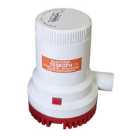 12V G1500 4180 L/Hr Submersible Water Pump (For Solar Power)