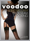 Voodoo Undercover Back Seam Stocking 15 Denier