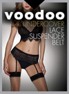 Voodoo Lace Suspender Belt