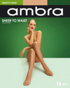 Ambra Sheer To Waist Pantyhose 15 Denier