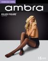 Ambra Killer Figure Hourglass Control Pantyhose 15 Denier