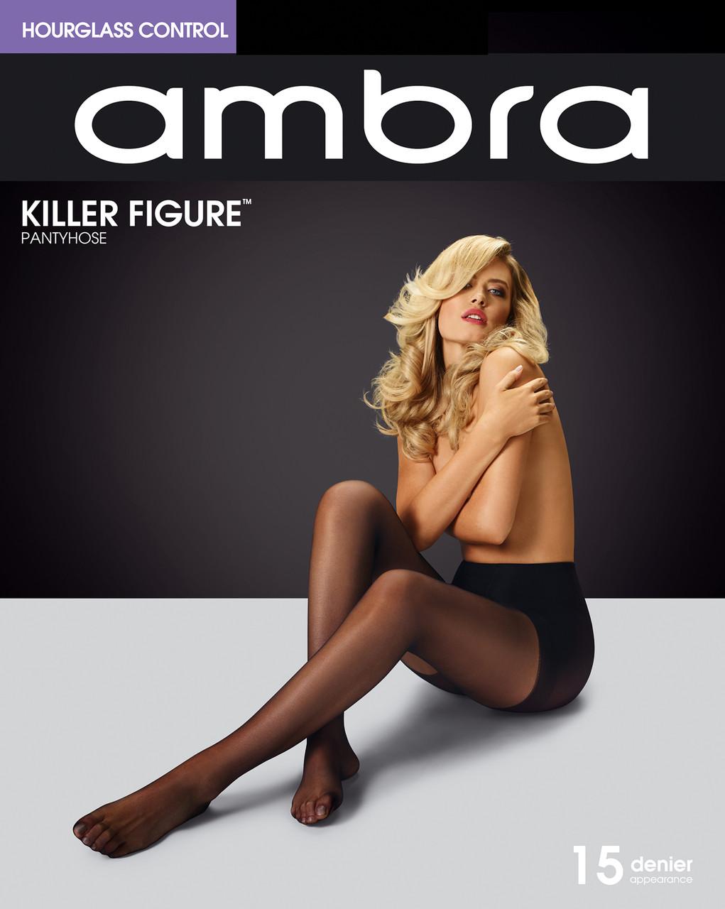 6d1da395ac389 Ambra Killer Figure Hourglass Control Pantyhose 15 Denier. Price: $12.95.  Image 1