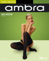 Ambra Opaque No Show Stay Up 70 Denier