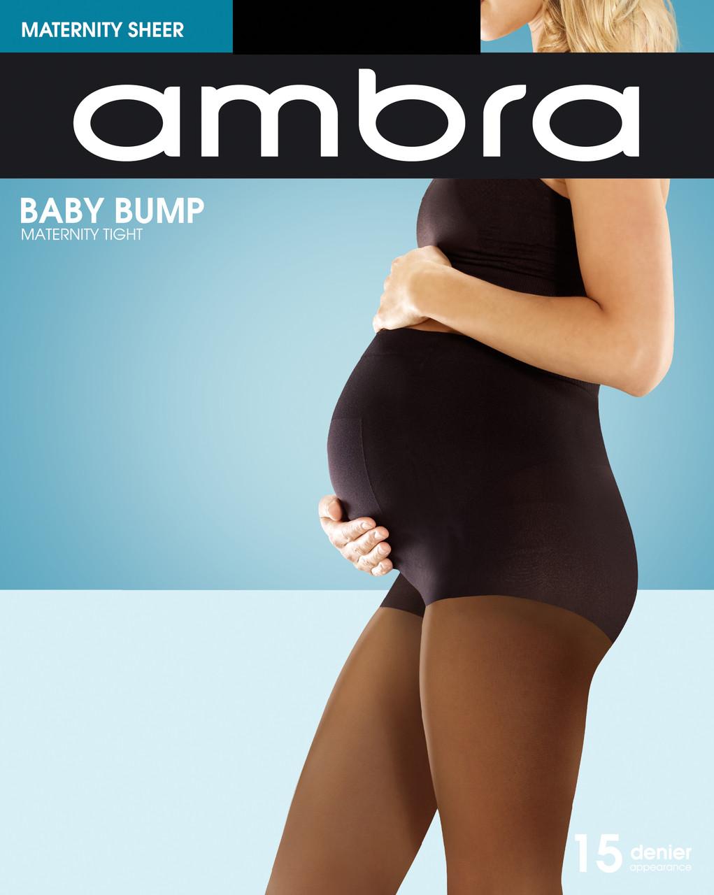 a19924d66f0ec Ambra Baby Bump Maternity Sheer 15 Denier - The Hobart Stocking Shop