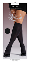 Levante Fuller Figure Opaque Knee High Black 50 Denier