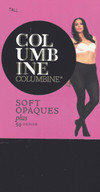 Columbine Plus 50 Denier Soft Opaque Tight Black