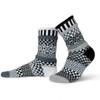 Solmate Socks Midnight Adult Crew Sock