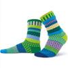 Solmate Socks Waterlily Adult Crew Sock