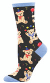 Sock Smith Ladies Sock Party Bear