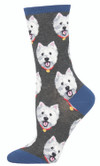 Sock Smith Ladies Socks Westies