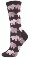 Sock Smith Ladies Socks Elephant Love