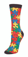 Sock Smith ladies Socks Puzzled