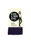 Columbine 50 Denier Soft Opaques Aubergine