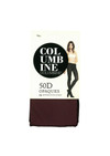 Columbine 50 Denier Soft Opaques Burgundy