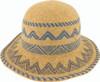 Avenel Boiled Wool Aztec Pattern Hat Mustard