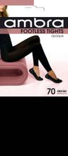 Ambra Footless Tight - 70 Denier