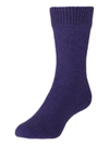 Comfort Socks Possum and Merino Crew Sock Violet