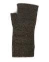 Lothlorian Possum and Merino Plain Fingerless Glove Brown Marle