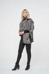 Parkhurst Jacquard Leopard Wrap Black Combo