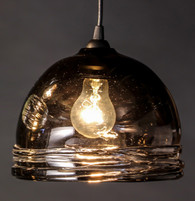 Osso Pendant Light shown in Bronze (Large)