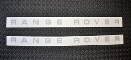 96-Before Range Rover Bonnet & Rear Logo Kit