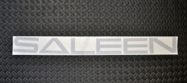 99-04 Saleen Windshield Banner