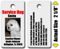 Small Service Dog Tags